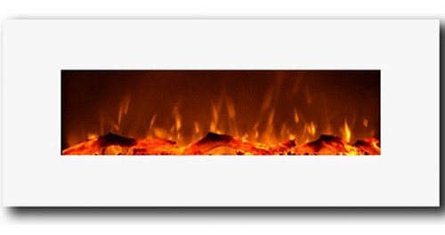 Moda Flame Houston 50 Electric Wall Mounted Fireplace